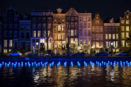 Ilumincación Amsterdam Light Festival 2016. Fuente DiarioDesign