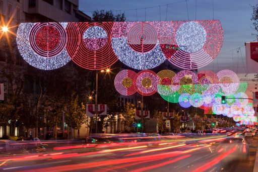 iluminación de Navidad Teresa sapey. Fuente Teresa Sapey
