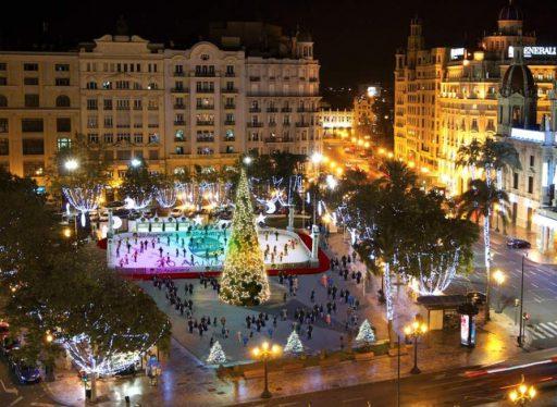 Iluminación navidad Valencia 2015