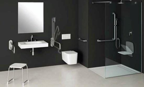 Interiores accesibles baño adaptado