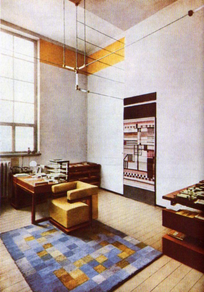Despacho director edificio Bauhaus en Dessau