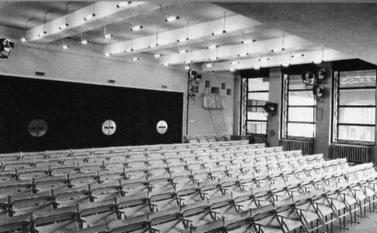 Teatro edificio Bauhaus en Dessau