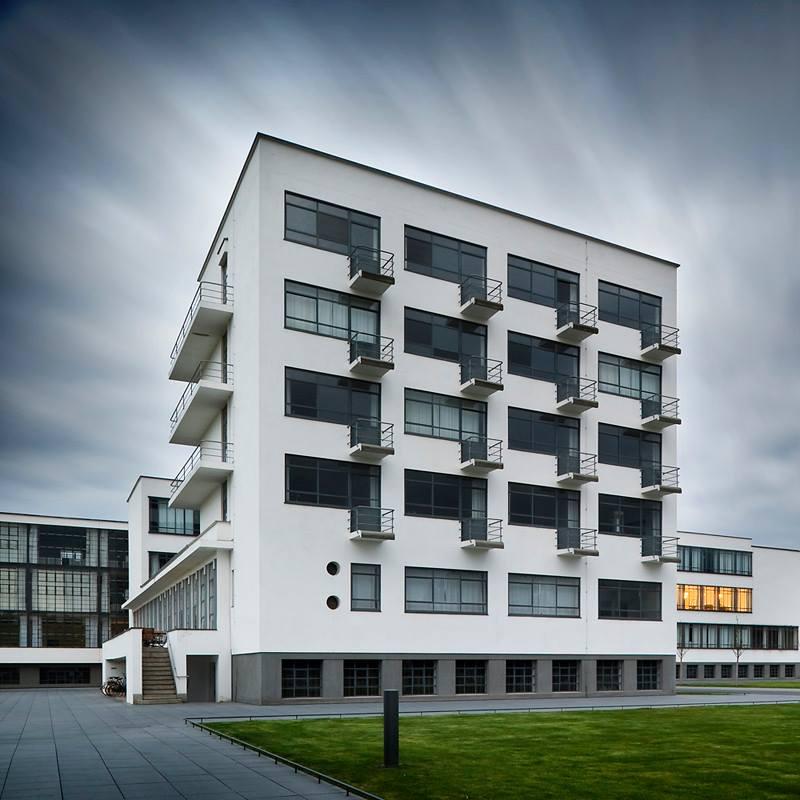 Residencia estudiantes Bauhaus en Dessau Alemania