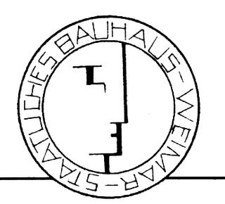 Logotipo escuela movimiento Bauhaus
