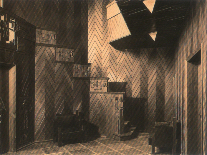 Bauhaus casa sommerfeld detalle escalera interior