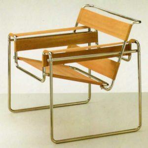 Silla modelo Wassily de M. Breuer Bauhaus