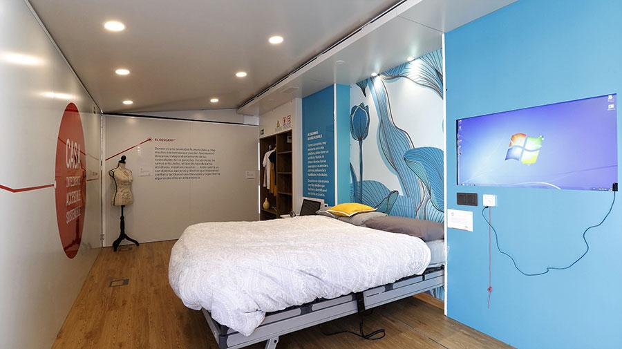 Interior casa adaptada Fundación Once interiores accesibles
