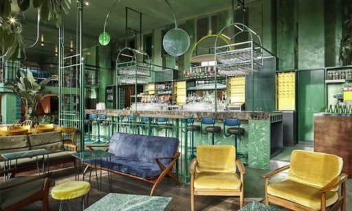 Tonos verdes tendencia diseño 2017