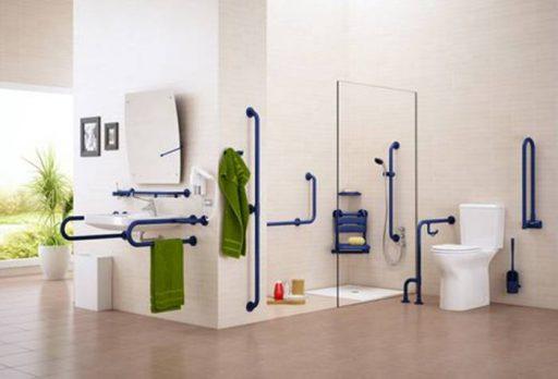 Interiores accesibles baño adaptado para minusválidos