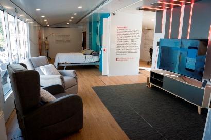 Interiores accesibles casa inteligente Fundación Once