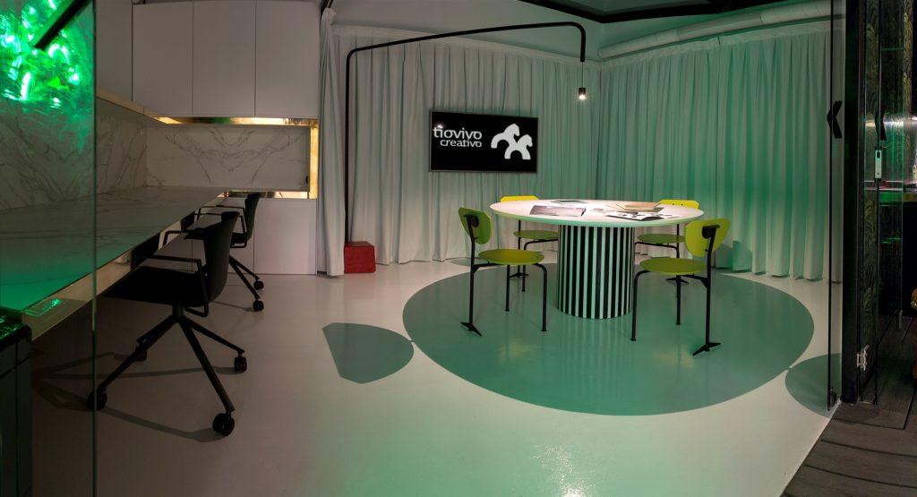 Sala diseño espacio coworking en Valencia