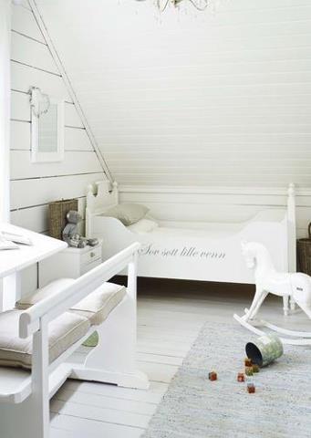 Habitaciones infantiles estilo romántico