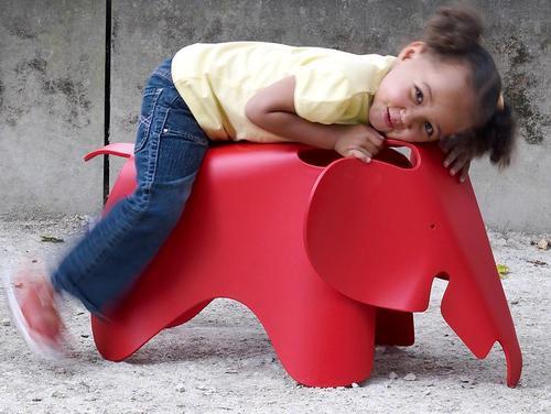 Elefante Vitra como decoración habitaciones infantiles