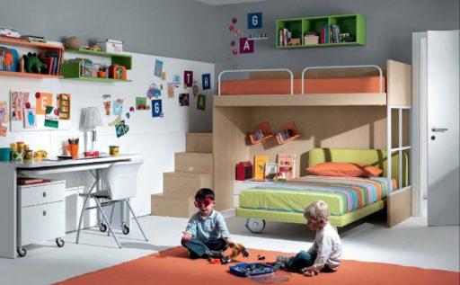 Mobiliario funcional habitaciones infantiles