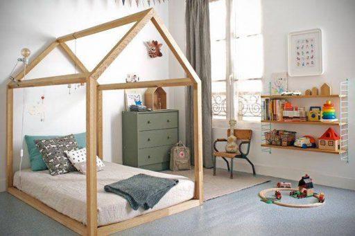Habitaciones infantiles estilo Montessori