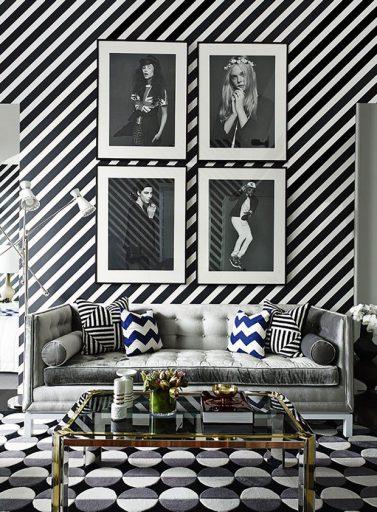 diseño-maximalista-interior-salon-blanco-negro