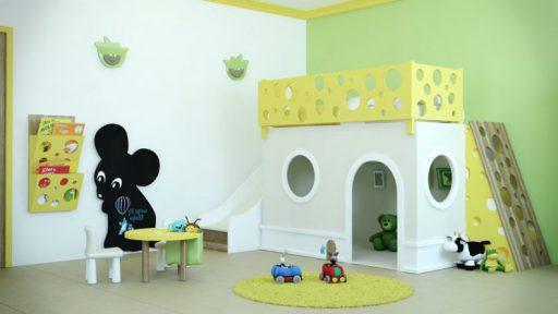 Habitaciones infantiles temática animal