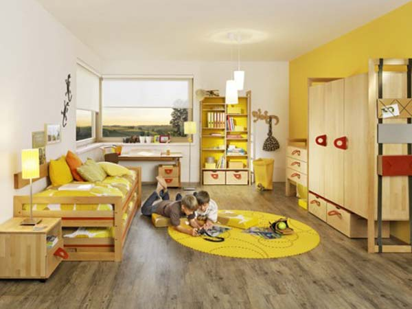 Habitaciones infantiles estilo feng shui