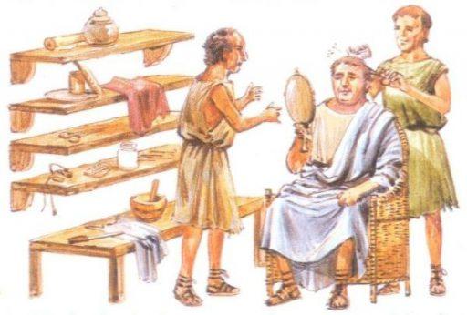 Barberías Roma clásica