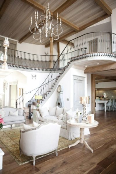 Interior casa estilo provenzal