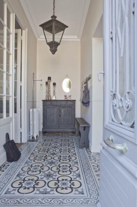 Entrada casa estilo provenzal
