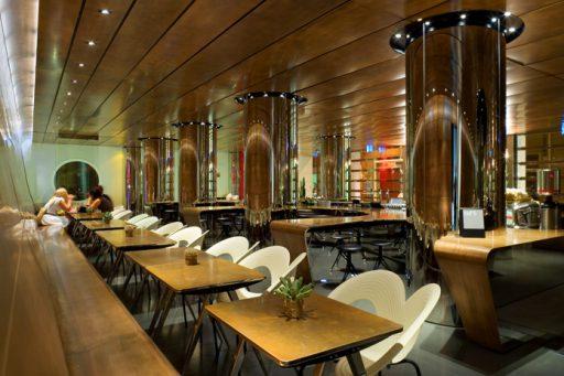 restaurante de diseño interiorismo