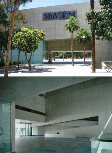 MuVim ejemplo brutalismo
