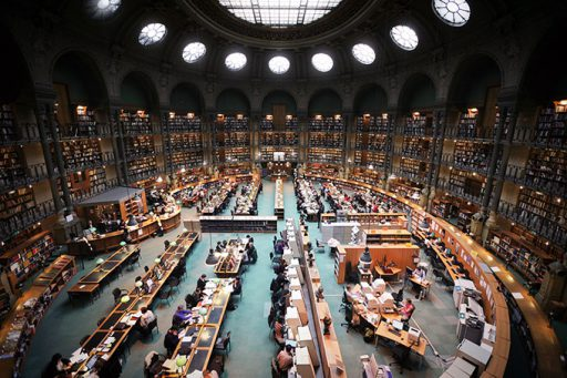 Mejores bibliotecas del mundo -París