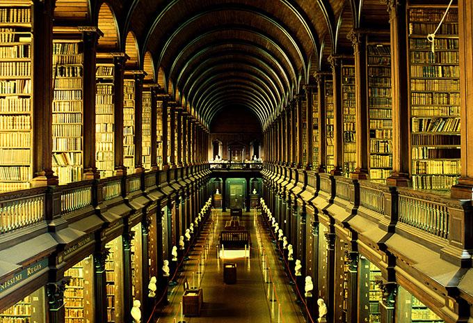 Mejores bibliotecas del mundo - Dublín