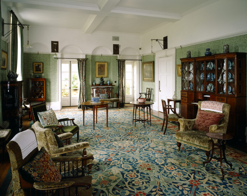 'Standen house' designed by Phillip Webb and furnished by Morris & Co.