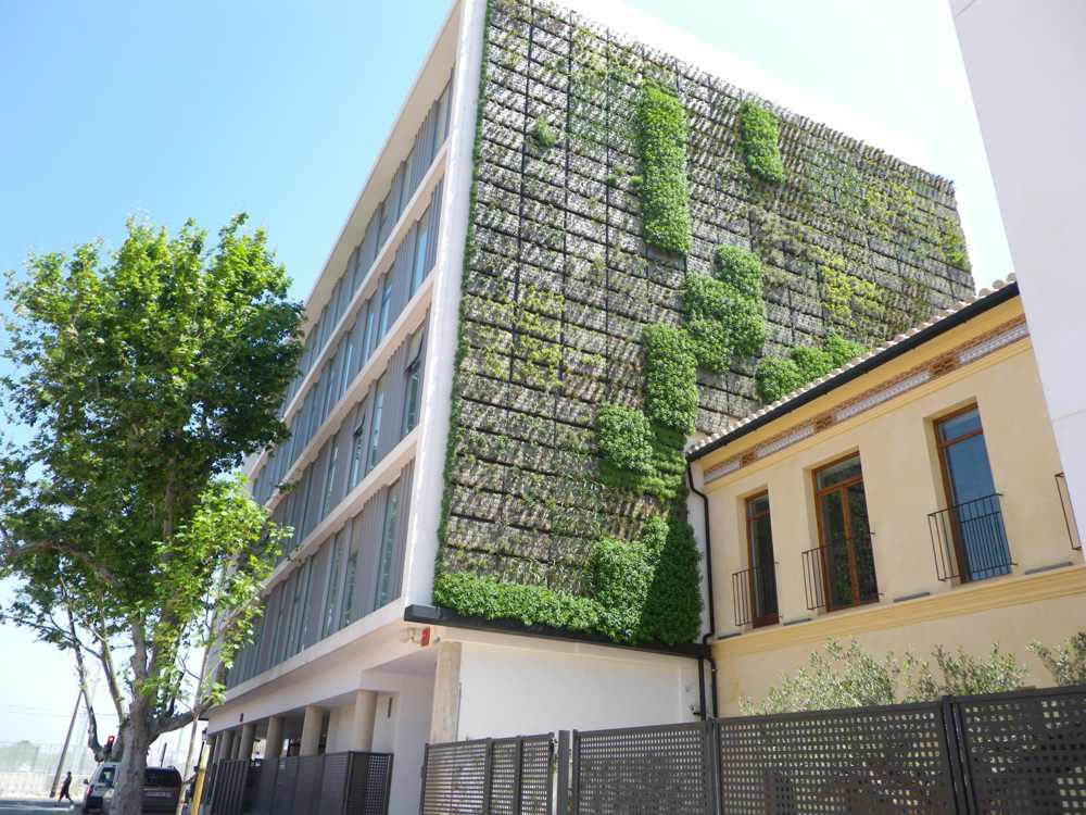 Jardines verticales naturaleza de ciudad tiovivo creativo for Jardines verticales valencia