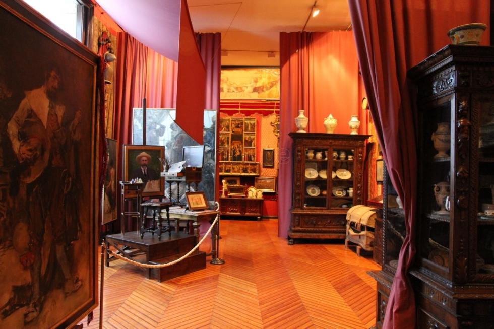 interiorismo y  mobiliario en Valencia museo casa benlliure