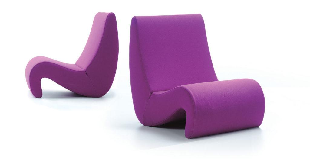 Silla diseño de Verner Panton