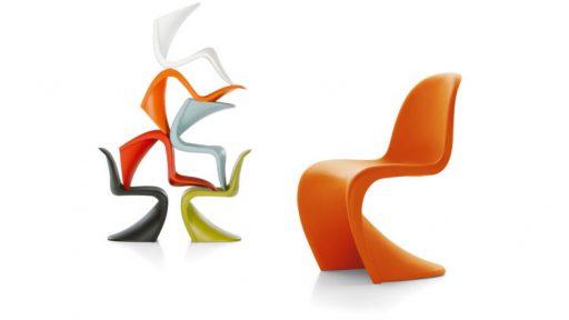 Silla Panton diseño de Verner Panton