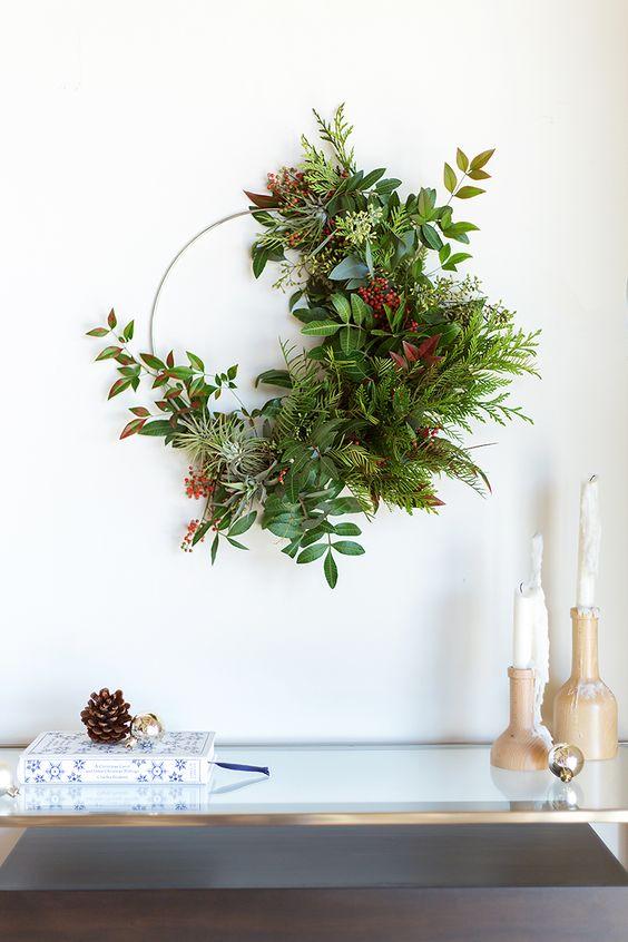 decoracion-navideña-guirnalda