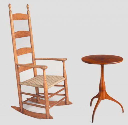 Movimiento shakers influencia interiorismo mobiliario