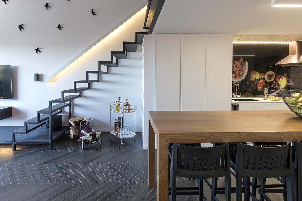 Diseño-cocina-para-loft-espacio-abierto-tiovivo