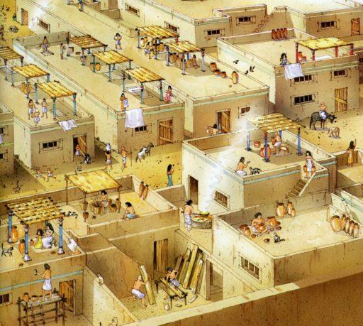 terrazas en egipto