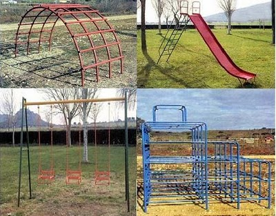 historia diseño parques infantiles