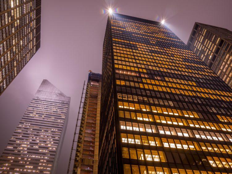 Historia de los rascacielos EEUU
