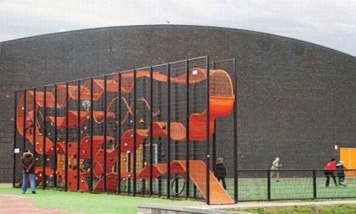 diseño parques infantiles