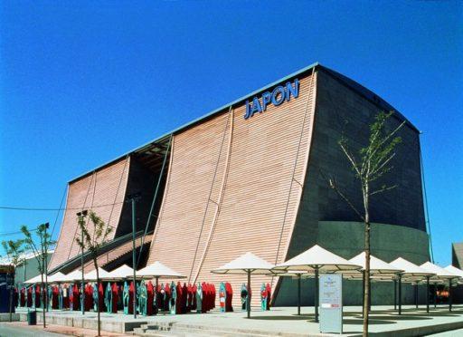 Pabellón-expo-Tadao-Ando-arquitecto-japonés