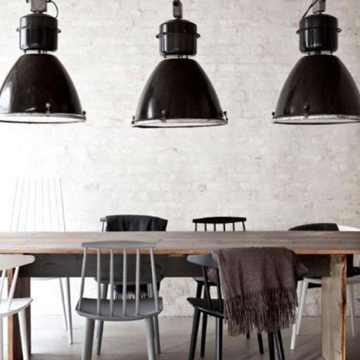 iluminación estilo industrial