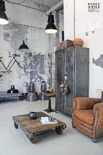 Estilo-industrial-interiores-salón