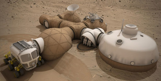 arquitectura en Marte