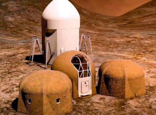 Casas en Marte