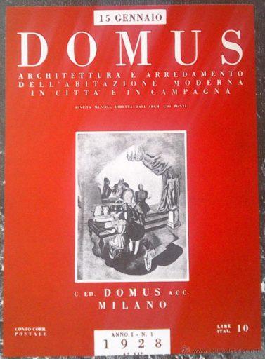 Primer-número-revista-Domus-Ponti