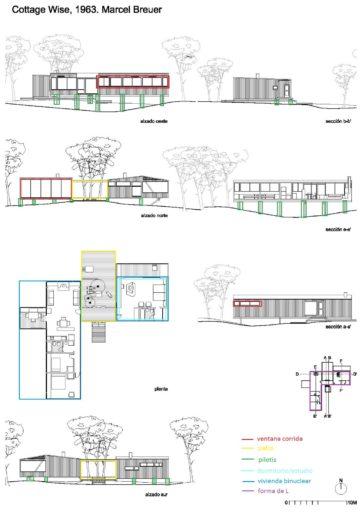 plano-casa-binuclear- breuer-arquitecto