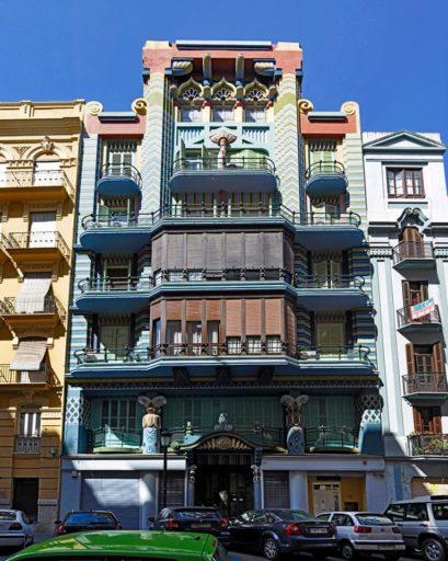 casa judería edificios art déco valencia