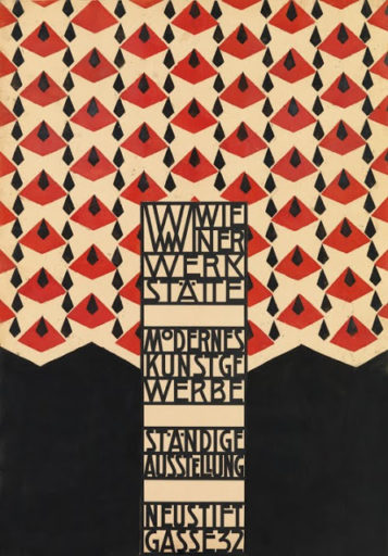 cartel-diseño-Talleres vieneses-Wiener Werkstätte